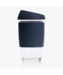 JOCO Reusable Glass Cup Mood Indigo
