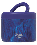 S'nack by S'well Food Container Azure Forest