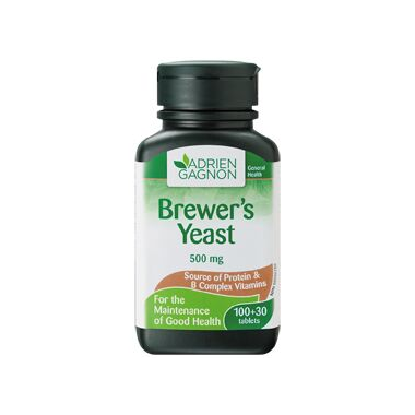 Adrien Gagnon Brewer\'s Yeast 500 mg