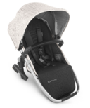 UPPAbaby VISTA V2 Rumbleseat Sierra Dune Knit Silver Black Leather