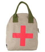 Fluf Medic Zipper Organic Lunch Bag