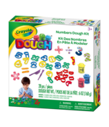 Crayola Modeling Dough Numbers Kit