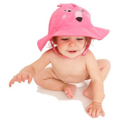 ZOOCCHINI Baby Sun Hat Flamingo