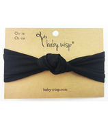 Baby Wisp Headband Turban Knot Black 3M+