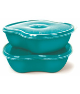 Preserve Square Food Storage Aqua