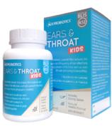 BLIS Probiotics Ears & Throat for Kids with BLIS K12