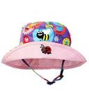 Snug As A Bug Girls Sun Hat