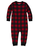 Hatley Baby Union Suit Red Buffalo Plaid