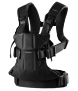 BabyBjorn Baby Carrier One Black Cotton Mix
