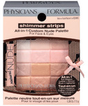 Physicians Formula Shimmer Strips All-in-1 Custom Nude Palette Natural Nude