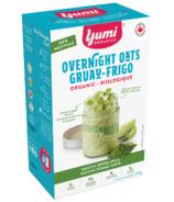 Avoine au pomme verte Matcha Nuit de Yumi Organics