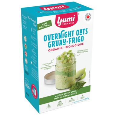 Yumi Organics Overnight Oats Matcha Green Apple
