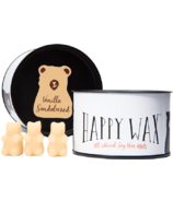 Happy Wax Classic Tin Vanilla Sandalwood Soy Wax Melts