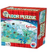 Carte du Canada casse-tête préscolaire