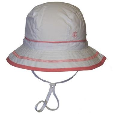 Calikids Quick Dry Bucket Hat Extra Wide Brim White