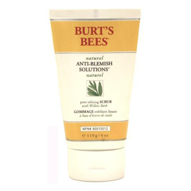 Burt\'s Bees Natural Anti-Blemish Solutions Pore Refining Scrub
