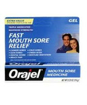 Orajel Mouth Sore Medicine Gel