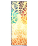 Manduka yogitoes Skidless Towels Chakra Collection Chakra Print