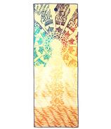 Manduka yogitoes Skidless Towels Chakra Collection Chakra Print