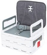 Nikidom Travel Portable High Chair Heather Grey