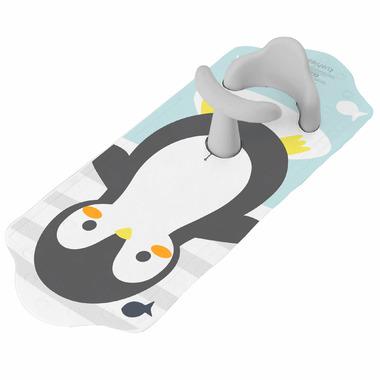 Kushies Aqua Splash Bath Mat Cool Penguin