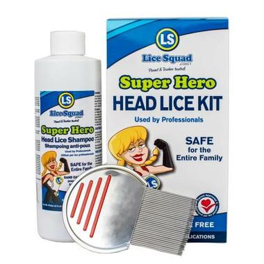 Lice Squad Super Hero Head Lice Kit