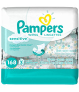 Pampers Sensitive Wipes Travel Packs