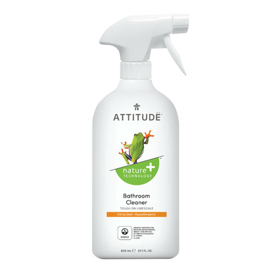 ATTITUDE Nature+ Bathroom Eco Cleaner Citrus Zest