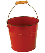 Nantucket Seafood Red Metal Seafood Pail