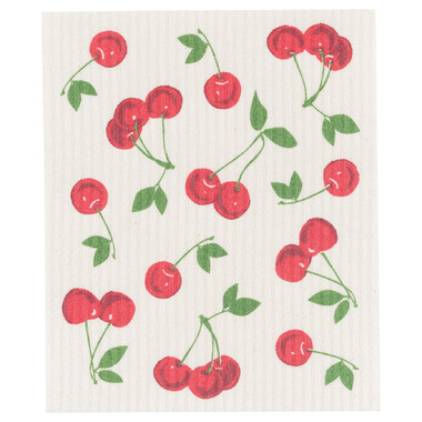 Now Design Swedish Cherries Dishcloth