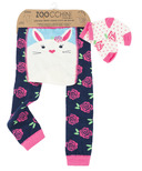 ZOOCCHINI Comfort Crawler Legging & Sock Set Bella the Bunny