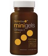 NutraSea+D Omega-3 + Vitamin D Mini Gels