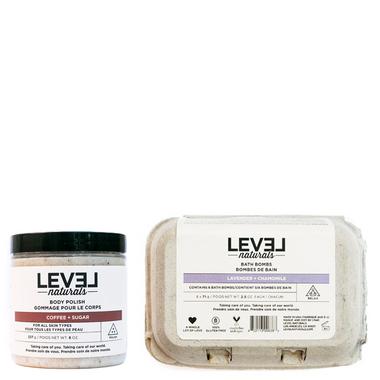Level Naturals Bath Bundle