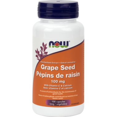 NOW Foods Grape Seed Extract 100 mg