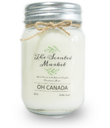 The Scented Market Soy Wax Candle Oh Canada