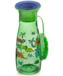 Wow Cup Mini 360 Spill-Free Cup with Lid Green Dinosaurs