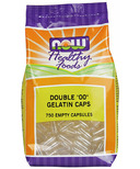 NOW Foods Empty Gelatin Size 00 Capsules