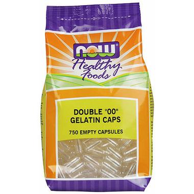 NOW Foods Empty Gelatin Size 00 Capsules
