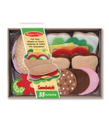 Melissa & Doug Felt Food Sandwich Set