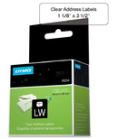 Dymo LabelWriter Clear Address Labels