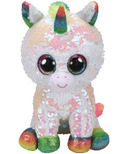 Ty Flippables Pixy the Sequin White Unicorn Medium