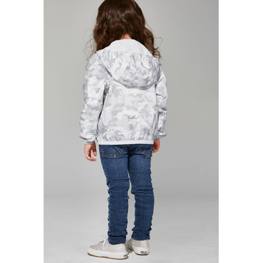 O8 Lifestyle Kid\'s Full Zip Packable Jacket White Camo