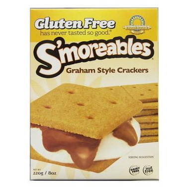Kinnikinnick S\'moreables Graham Style Crackers