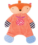 Manhattan Toy Teether Fox Snuggle Blankie
