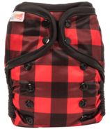 Bummis All-in-One Pure Diaper Lumberjack