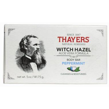 Thayers Witch Hazel Aloe Vera Body Bar Peppermint
