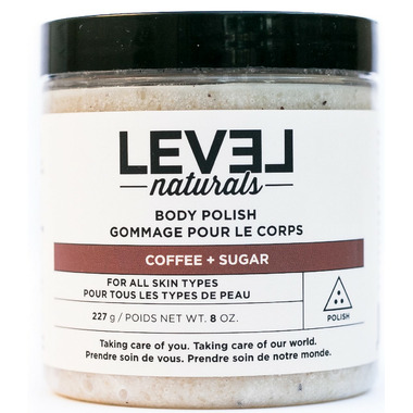 Level Naturals Body Polish Coffee + Sugar