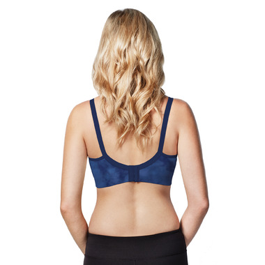 Bravado Designs The Body Silk Seamless Nursing Bra Indigo Wash