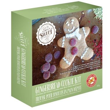 Simply Sweet Baking Gingerbread Cookies Kit