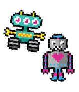 Fat Brain Toys Jixelz Roving Robots Pixel Puzzle